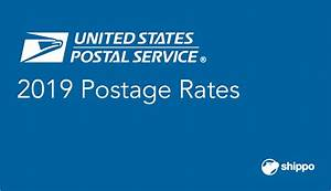 Usps Postage Rates 2019 Chart Postage Calculator By Weight Blog Dandk