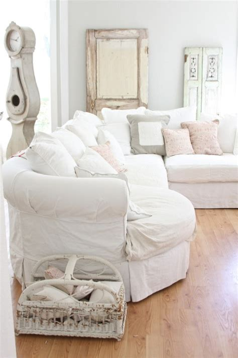 shabby chic white sofa 52 ways incorporate shabby chic style into every room in your home