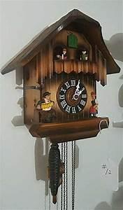 Vintage, German, Cuckoo, Clock