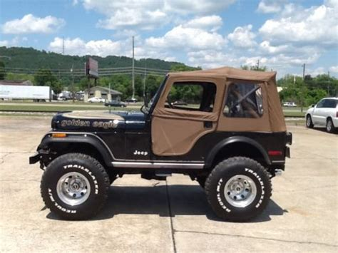 jeep eagle for sale sell used 1980 jeep cj5 golden eagle in gadsden alabama