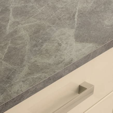 Grey Slate Effect worktop   Kitchen worktops   Howdens Joinery