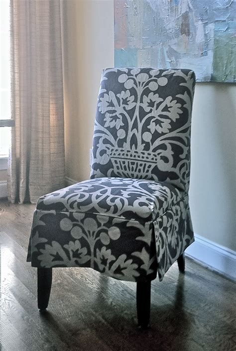 Dining Room Cool Patterned Parsons Chair Slipcovers Decor
