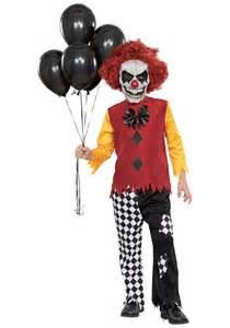 Scary Clown Halloween Costumes Kids