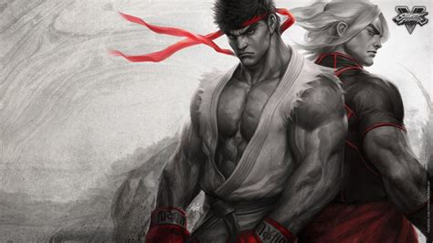 Wallpaper Ryu, Ken, Street Fighter V, Games, #4513