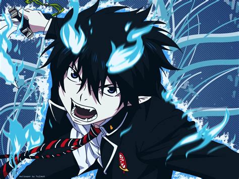 Blue Exorcist Rin Wallpaper Anime Photo 39438305 Fanpop
