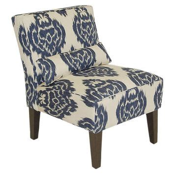 best navy accent chair products on wanelo