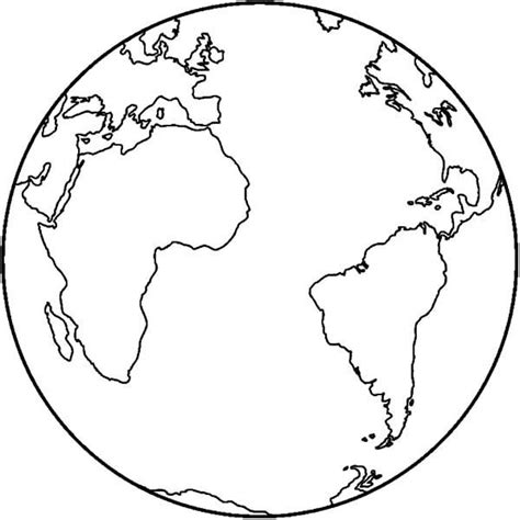 earth map coloring pages  printable coloring pages