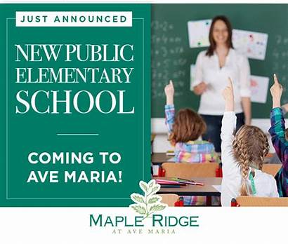 Ave Maria Florida Elementary Homes March Cc