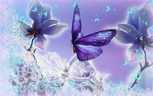 Light purple and pale blue butterflies. | Butterflies and ...