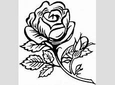 Koleksi 66 Gambar Animasi Bunga Mawar Hitam Putih Paling Keren
