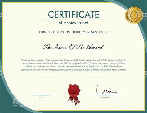 certificate templates with photos certificate template stock vector art 499304314 istock