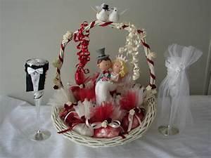 Corbeille De Fleurs Pour Mariage : decoration corbeille mariage le mariage ~ Teatrodelosmanantiales.com Idées de Décoration