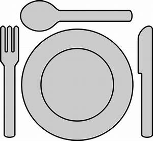 Clipart - Place setting