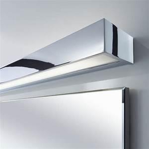 Spiegelleuchte 120 Cm : wand oder spiegelleuchte 120cm nickelmatt oder chrom wohnlicht ~ Orissabook.com Haus und Dekorationen