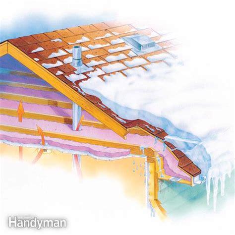prevent ice dams  family handyman