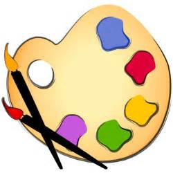 Pics Photos - Clipart Picture Of Paint And Art Supplies
