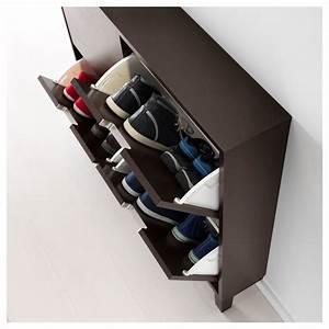 Ikea Schuhschrank Ställ : ikea st ll shoe cabinet with 4 compartments black brown pinterest shoe cabinets ~ Pilothousefishingboats.com Haus und Dekorationen