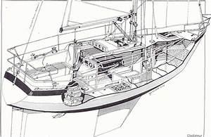 S  V Northwest Passage  Wauquiez Gladiateur 33 Sailboat