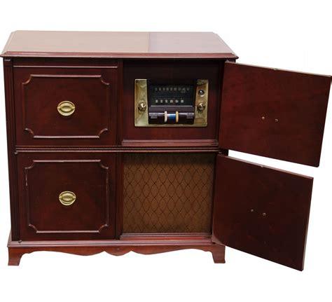 turntable cabinet vintage wood stromberg carlson am fm turntable cabinet