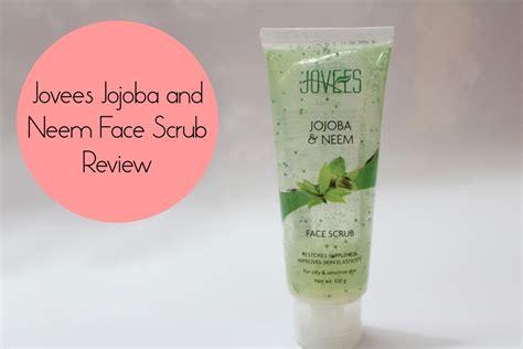 jovees jojoba  neem face scrub review price
