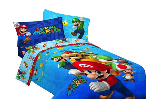 kid bedding sets mario brothers bedding set for for the littlest gamer