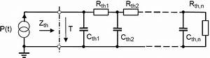 Electrical Transmission Line Equivalent Circuit Diagram For Modeling