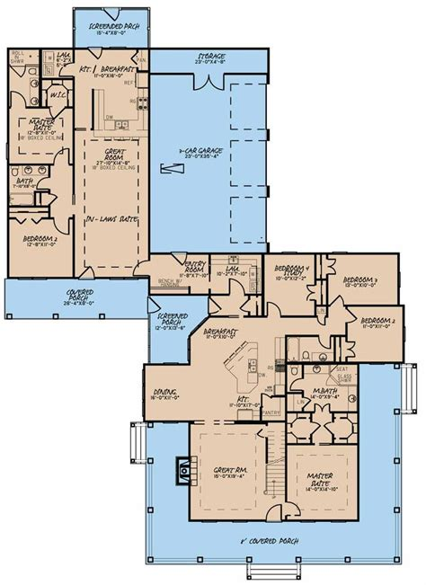 Pictures House Plans With Inlaw Suites Attached by Best 25 In Suite Ideas On Basement