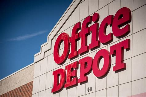 office depot emulates in using tech services to