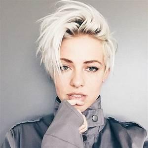 Coupes Cheveux Courts Femme : coupe cheveux courts femme blonde ~ Melissatoandfro.com Idées de Décoration
