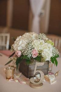 75 ways to display your wedding table numbers page 13