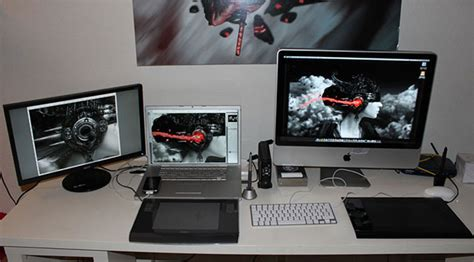 brilliantly amazing workstation setups web graphic