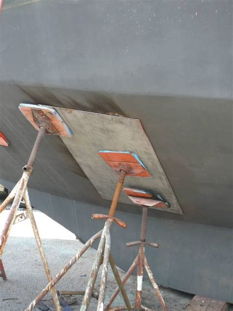 Steel Boat Rust Repair by Fixing The