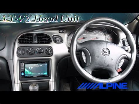 how to holden vt vx commodre hsv install head unit full install youtube