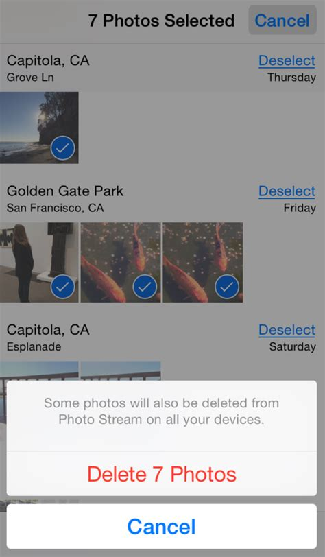 how to delete all pictures from iphone how to bulk delete images from your iphone macworld How T