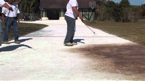 hc decorative concrete coatings sherwin williams youtube
