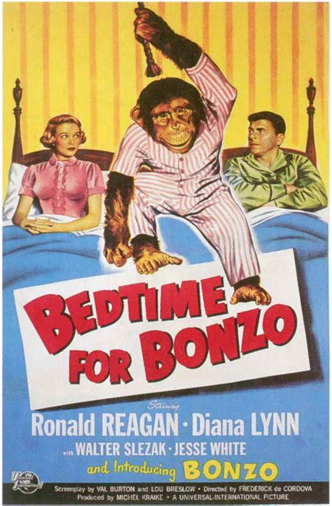 bedtime for bonzo posters from poster shop