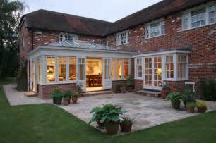 kitchen extension design ideas brick home orangery extension country exterior