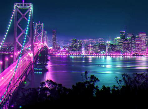 San Francisco At Night. Didn't Take This Picture, But I