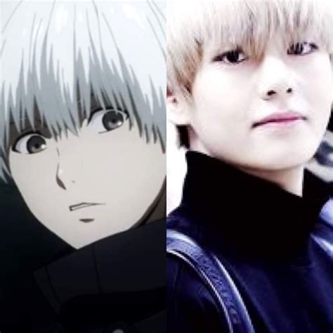 bts as anime characters k pop amino