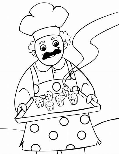 Coloring Pages Muffin Clipart Know Nursery Printable