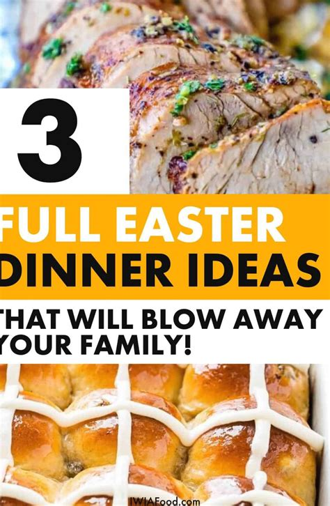 Just serve up this meal and you're sure to be a big hit. easter dinner menu ideas main dishes southern living easter dinner recipes dessert easter dinner ...