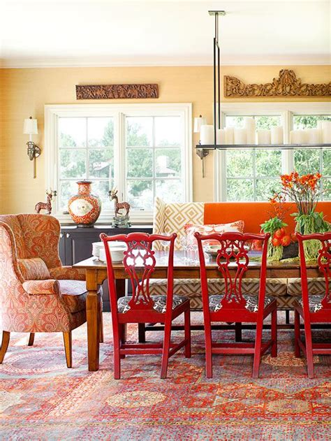 1000 Ideas About Red Dining Rooms On Pinterest Red