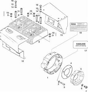 503 Ul Cdi Ignition Housing  Air Guides For Free Air