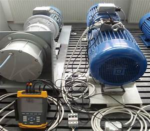 Generator DSWA coupled with prime mover induction motor ...