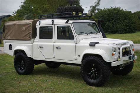 Defender Truck by 1993 Land Rover Defender 130 Truck Uncrate