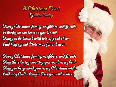 christmas poem  work colleagues festival collections