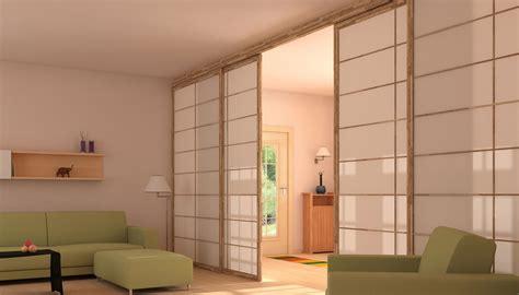 librerie scorrevoli divisorie porte e pareti scorrevoli shoji in stile giapponese cinius