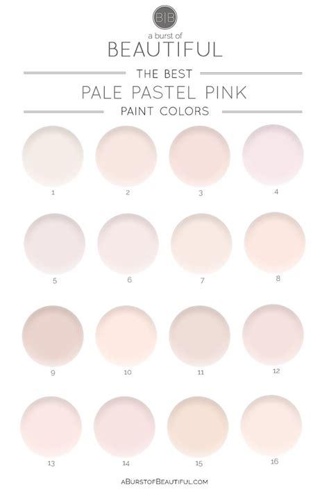 pale pink color best 25 pink paint colors ideas on gold