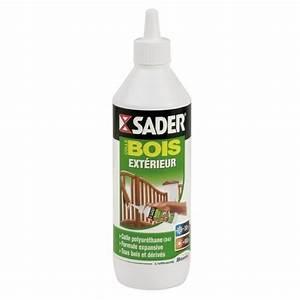 Colle a bois polyurethane exterieur sader bricozor for Colle a bois exterieur polyurethane