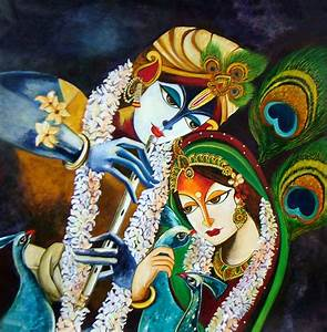 Neeraj Parswal Artwork: Immortal Love of Radha Krishna